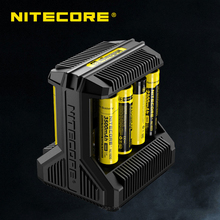 NITECORE Intellicharge I8 eight Bays Battery Charger, Automatically Detects/ Monitors and Charges Each Slot Independently(China)