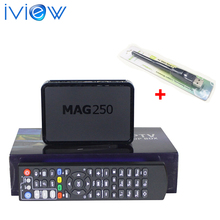 Hot selling MAG250 with USB Wifi Adapter Linux 2.6.23 Operating System Iptv Set Top Box Not Included IPTV Account MAG 250 Wifi