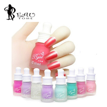 2016 1PC Magic Candy Color Gel Nail Polish Soak Off  Nail Glitter Matt Varnish Nail Enamel 30 Colors 10ML