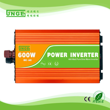 600W off grid inverter, 12V/24V DC to AC110V/220V pure sine wave inverter for solar or wind power system, surge power 1200W