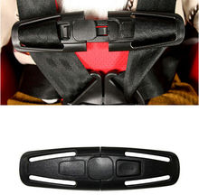 Free Shipping 2pcs Auto Car Baby safety belt clip,fixing clips chest buckle safety seat lock(China)