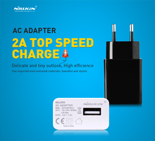 2A Top Speed Charger Original NILLKIN AC 2A EU Europe Standard USB Plug Power Wall Charger Adapter For Cell Phone USB Charger