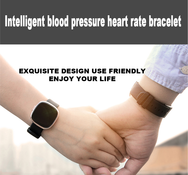 New Smart Wristband P2 Blood Pressure Heart Rate Monitor Smart Band Pedometer Sleep Sports Tracker for IOS Android Waterproof 17