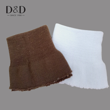 D&D 2Pcs/Lot 5 Colors Clothing Coat Sleeves Accessory Warm Hand Cuff Wrist Clothing Accessories 9cm*9cm(China)