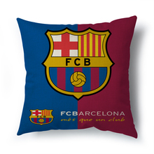Hot sell Madrid real betis decorative cushion cover for sofa car living room Barcelona throw The home decor pillowcase 45x45cm