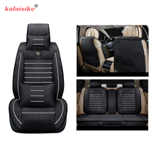 Buy Kalaisike Linen Universal Car Seat covers Fit Automobiles Interior accessories Sedans Seat Covers car styling auto Cushion for $90.00 in AliExpress store