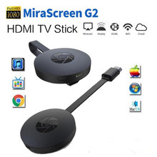 HDMI media player wireless display receiver dongle Mirascreen G2 Adapter Mini PC Android TV stick vs Chrome Cast Chromecast 2 tv(China)