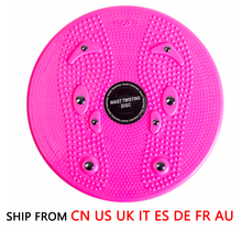 (Ship From 8 Countries) Aerobic Balance Board Fitness Waist Torsion Disc Board Magnet Twist Board 360 Degree Rotation Massage(China)