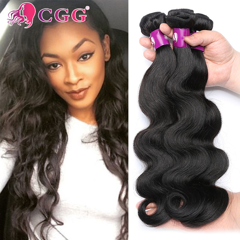 Peruvian Virgin Hair Body Wave 3 Bundles #1B Unprocessed Human Hair Weaves Free Shipping Cheap Peruvian Body Wave Virgin Hair<br><br>Aliexpress