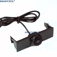 Car Front camera for VOLKSWAGEN VW TOUAREG 2015 Forward view camera CCD HD night vision waterproof wide angle(China)