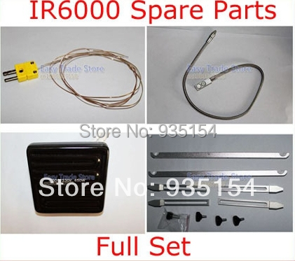 bga rework station Spare Parts Omega Thermocouple + Thermocouple Wire Holder + 450W Heat Plate + BGA Fixture<br>