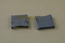 1pc Original used SD card slot socket for wii u WIIU console repair parts with tracking number