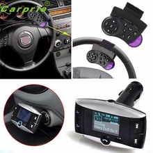 CARPRIE Super drop ship Wireless LCD Bluetooth 3.0 Car Kit MP3 FM Transmitter USB Charger Handsfree Mar717