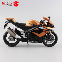 1:12 Mini Scale Children SUZUKI GSX R1000 diecast auto motor race car metal vehicles collection motorcycle models for kids toys