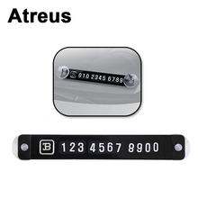 Atreus 1X Car Styling Parking Card Stickers volkswagen passat b5 b6 golf 4 vw polo toyota mazda 3 6 peugeot mercedes obd2 - NVIEW Factory Outlet Store store