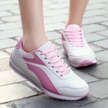 Ladies Golf Shoes For Women Leather Waterproof Anti Skid Nail Shoes Sports Sportswear Women Shoes All Match Ball Walking Shoes(China)
