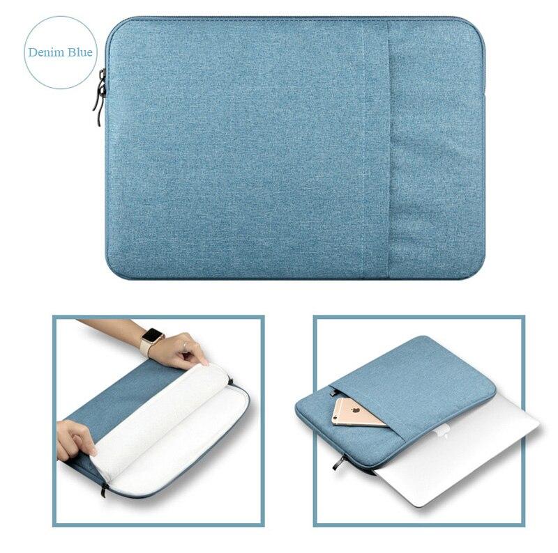 Laptop Sleeve Bag Case for 2016 Apple Macbook Pro 13 15 A1707 A1708 Nylon Laptop Sleeve Bag for Mac book Air 13.3 Bag for Xiaomi