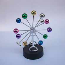 #a swing ball newton billiard Rotary magnetic sphere ball  creative wiggler desktop crafts Desktop decoration gift supply