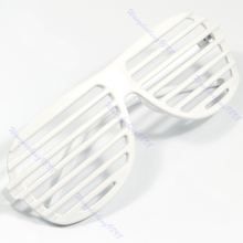 Full Shutter Glasses Shades Sunglasses Club Party White good quality