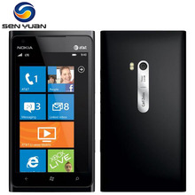 "Original Nokia Lumia 900 Mobile Phone 4.3"" Touch Screen 8.0MP Camera WIFI GPS Bluetooth 3G cell phone"