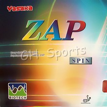 Yasaka ZAP SPIN BIOTECH Pips-in Table Tennis PingPong Rubber With Sponge NO ITTF