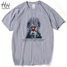 HanHent The Big Bang Theory T Shirt This Is My Spot Games Of Thrones Men Shirts Top Tees Casual Man Clothing(China)