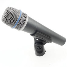 Free Shipping!! Top Quality Version BETA 57 Supercardioid Handheld Dynamic Wired Microphone Beta 57 A Microfono Mic(China)