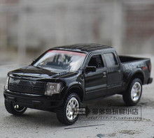 1:32 scale alloy pickup model car, high simulation 2011 FORD F150 SVT, metal cast 2 open the door, free shipping(China)
