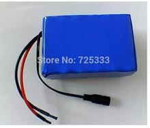 24V 10Ah 6S5P 18650 Battery lithium battery 24v electric bicycle moped /lithium ion battery pack+free shopping +1A charger