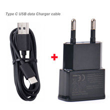 2A EU USB Travel Portable Cell Phone Charger Adapter+Type C USB Data Cable For HTC 10 evo Bolt,Sharp Z2 ,LeEco Le S3