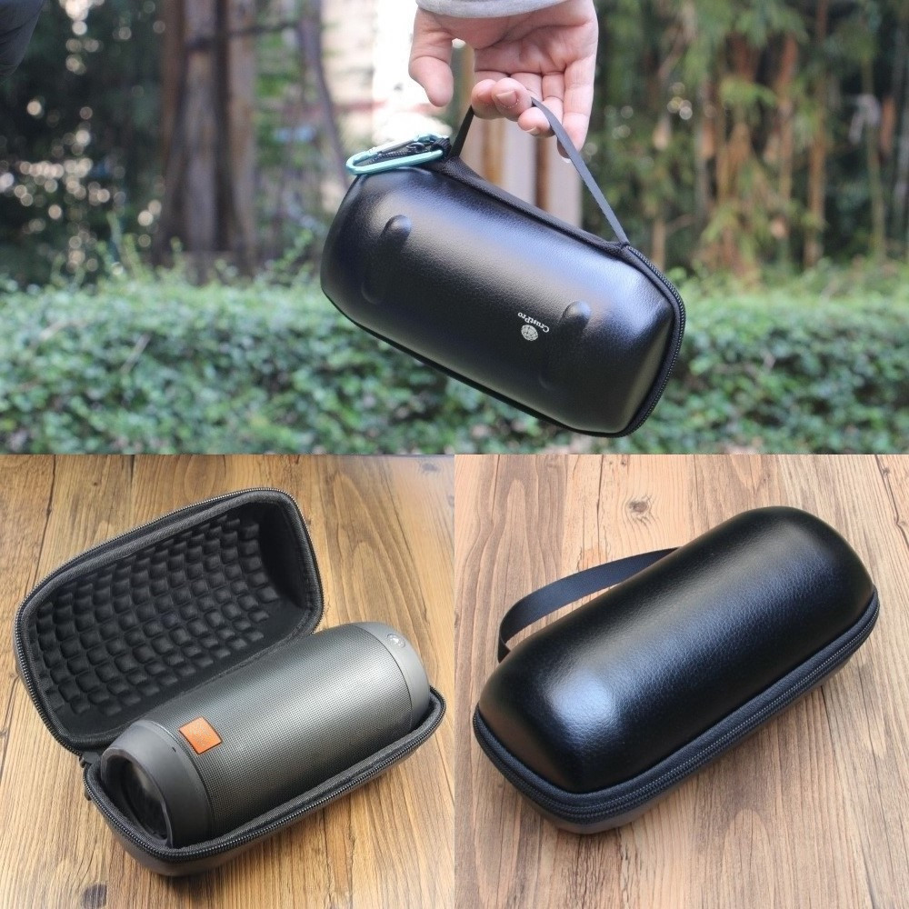 2017 New Case Cover Box PU+Leather JBL PULSE2 Wireless Bluetooth Speaker Black