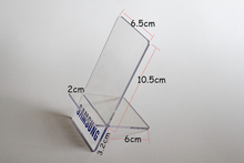 Clear Acrylic Detachable Mobile Cell Phone Display Rack Stand Holder For Samsung Phone 50pcs Free Shipping By DHL