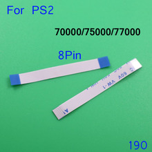 1 piece -- 100pcs Wholesale Price 7W 7W5 7W7 8Pin*38mm Power Switch Ribbon flex Cable for Playstation PS2 70000 75000 77000