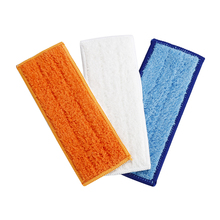 3pcs robot cleaner Microfiber Washable wet & damp & dry sweeping Pad mopping pads for iRobot Braava Jet 240(China)