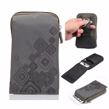 Outdoor Sports Wallet Mobile Phone Bag Army Cover Case For Multi Phone Model Hook Loop Belt Pouch Holster Bag