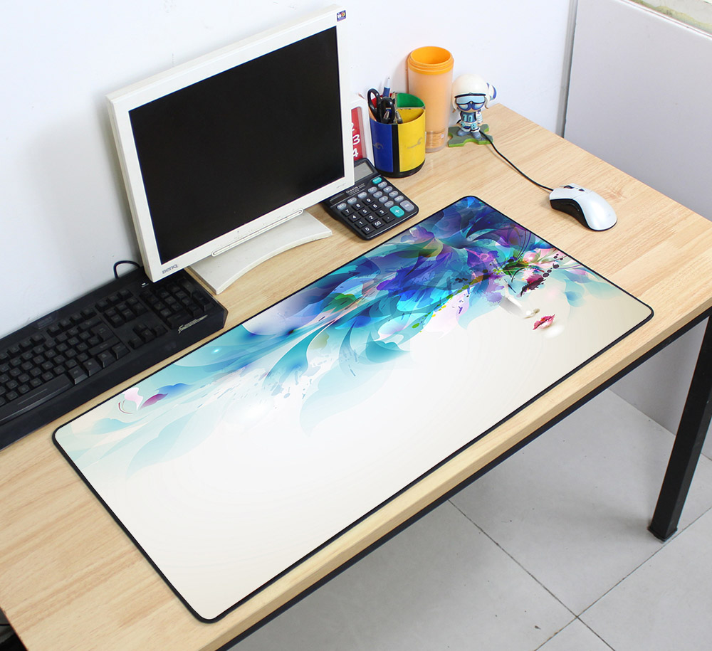 Custom Large mouse pad 700x400mm speed Keyboards Mat Rubber Gaming mousepad Desk Mat for game player Desktop PC Computer Laptop 7
