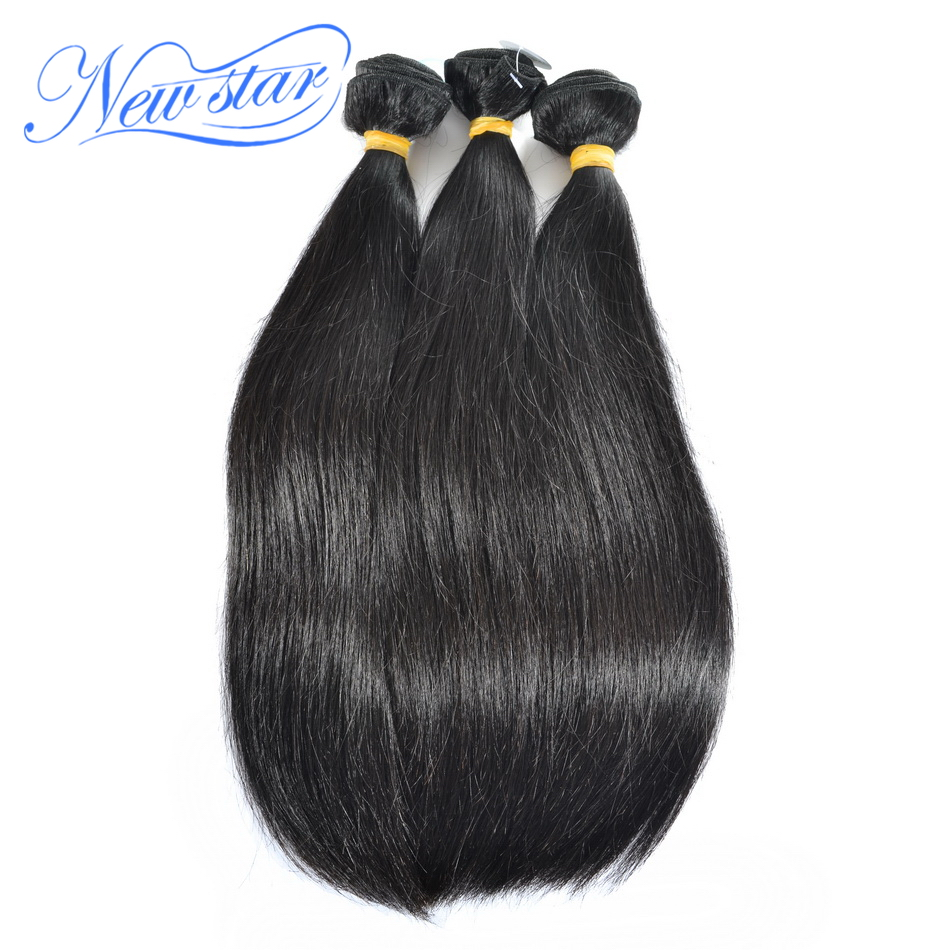 New Star hair Peruvian Virgin straight 100% human Hair weft 3pcs/lot DHL free shipping 14-24natural color quality good price<br><br>Aliexpress