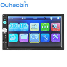 Ouhaobin Bluetooth Car Stereo Audio In-Dash Aux Input Receiver SD/USB MP5 Player Gift Sep 19(China)
