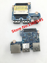 Free Shipping Laptop USB Network Interface Board For HP ProBook 640 G1 645 G1 Card Board USB Board 6050A2566901