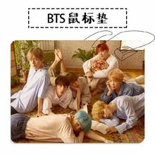 New kpop BTS Bangtan Boys LOVE YOURSELF V SUGA JIN The Same rubber mouse pad 260*210mm