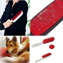Carpet Hairbrush Sofa Anti-Static Pet-Hair-Remover 1PC Double-Faced