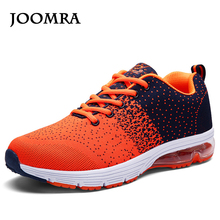 Joomra Sport Sneakers Men's Shoes Running Shoes Flywire Technology  Athletic Trainers green/orange Cushioning Running Shoes