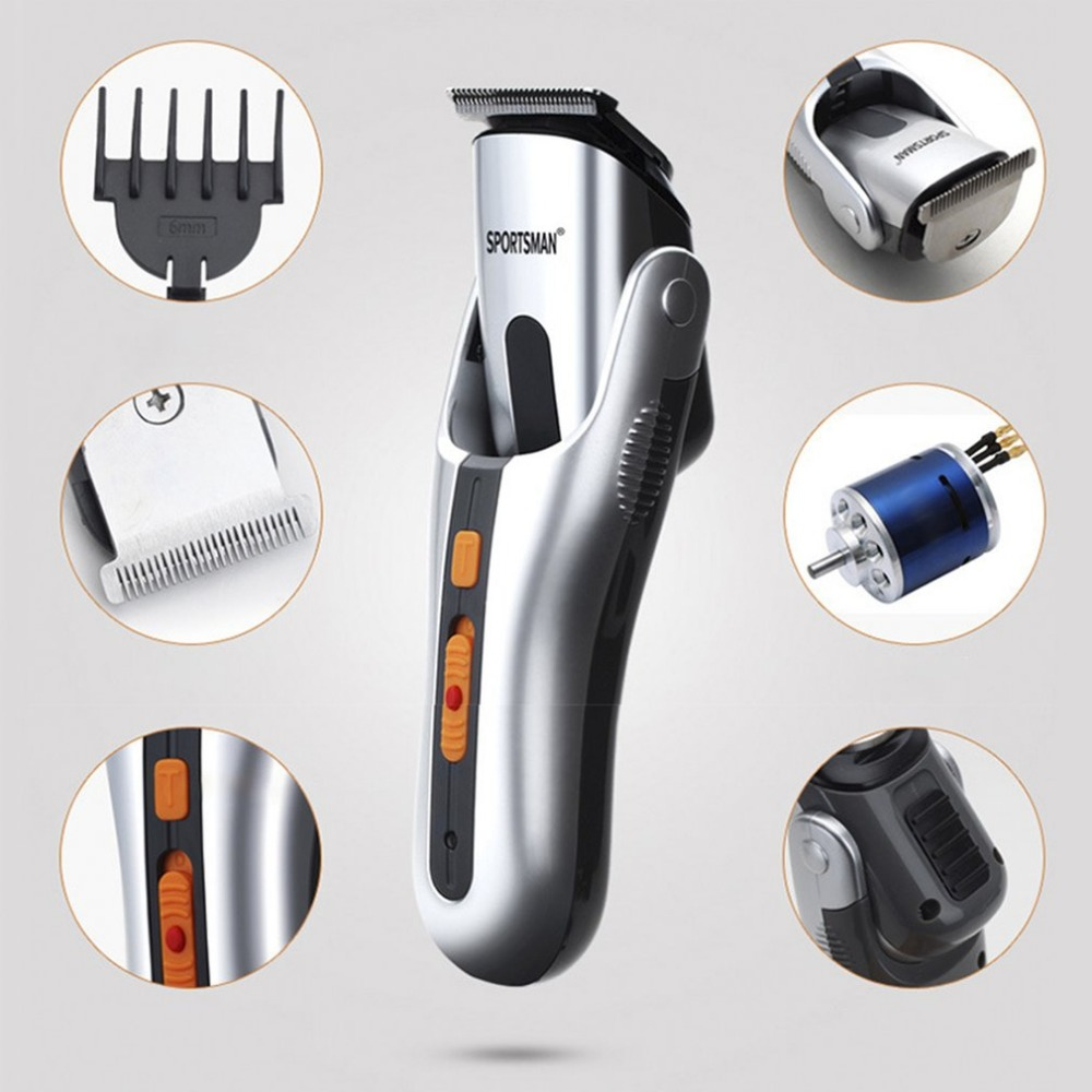 Multi-functional Electric Hair Clippers Men Nose Ear Hair Trimmer Trimming Sideburns Eyebrows Beard Hair Clipper Cut Shaver<br>