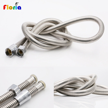 Hand Shower Hose Stainless Steel Chrome Flexible Bathroom Replacement Accessories Plumbing Materials Anti-twist Water Hose