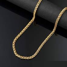 Europe Fashion Trend Gold color Hip Hop long Necklace HIPHOP Rap Chain statement necklace as party gift