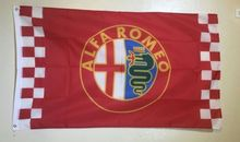 Alfa Romeo Logo Large Indoor Outdoor Banner High Quality Flag Custom flag Drop Shipping