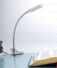 3W LED Bedside Desk Table Reading Lamp Light Clamp Clip ON OFF Switch Flexible