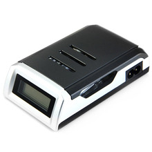 Universal C905W LCD Display Battery Charger with 4 Slots Smart Intelligent Battery Charger For AA / AAA NiCd NiMh CH002