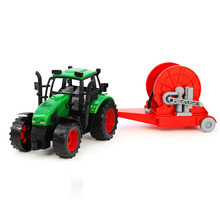 Big Size Farmer Tractor Pumps FRICTION Truck Model Vehicle Toys For kids