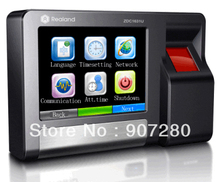 TCP/IP Touch Screen Biometric Fingerprint Access Control & Time Attendance 600T